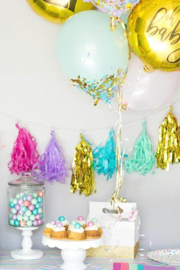 Easy Gender Reveal Ideas