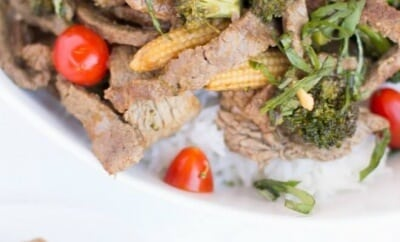 Thai Style Beef & Broccoli Stir Fry Recipe