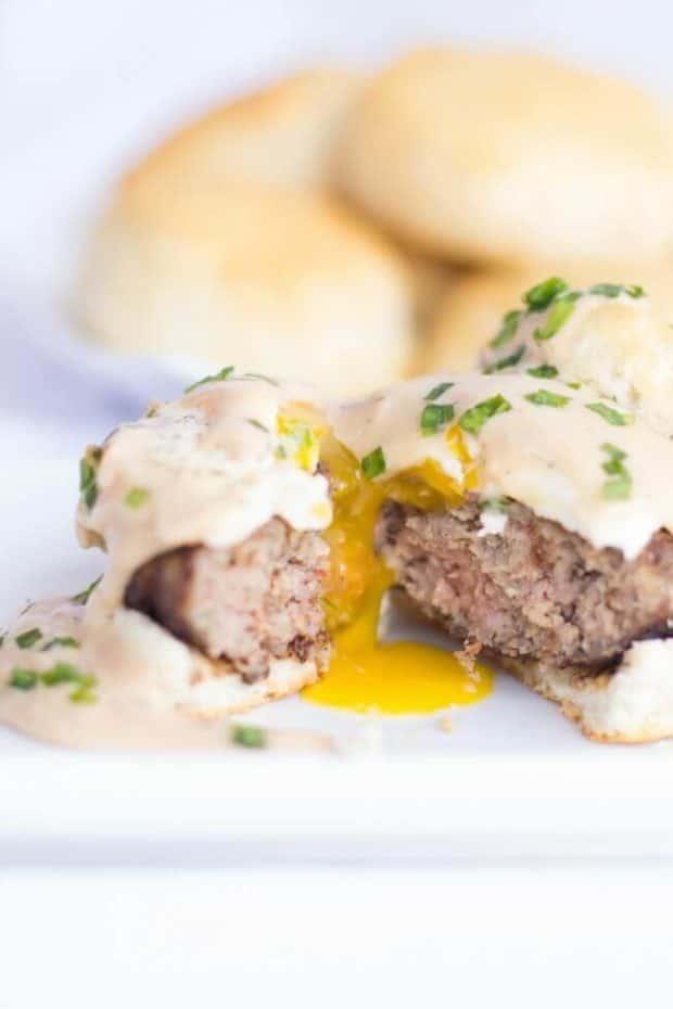Homemade Breakfast Sausage Gravy