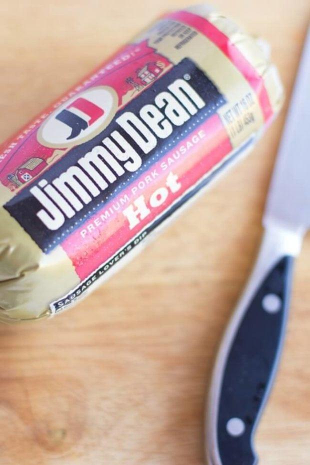 Hot Jimmy Dean Sausage