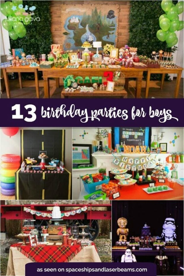 13 Best Boy's Birthday Party Ideas