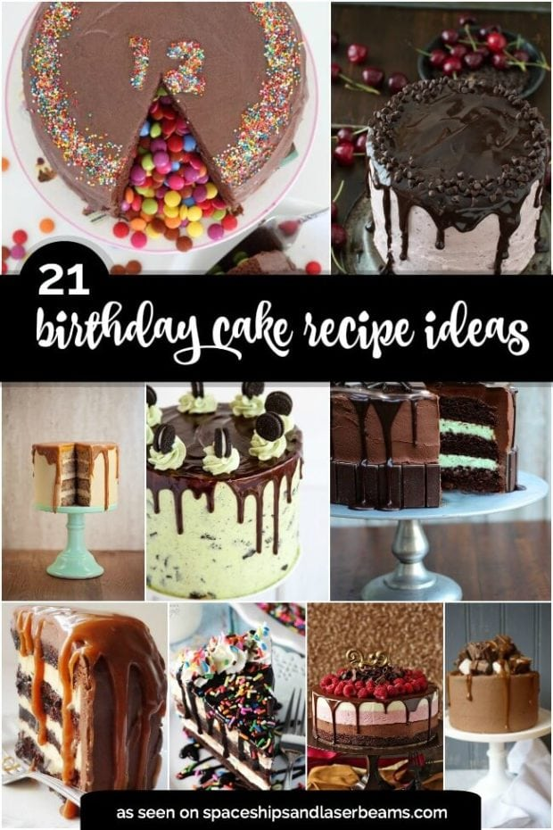 Birthday Cake Recipe Ideas