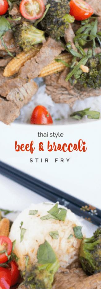Thai Style Beef & Broccoli Stir Fry Recipe