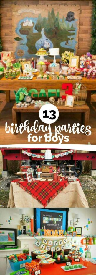 13 Best Boy's Birthday Party Ideas