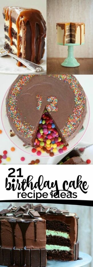 Birthday Cake Recipe Ideas