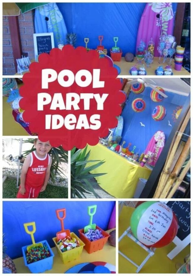 pool party ideas summer birthday