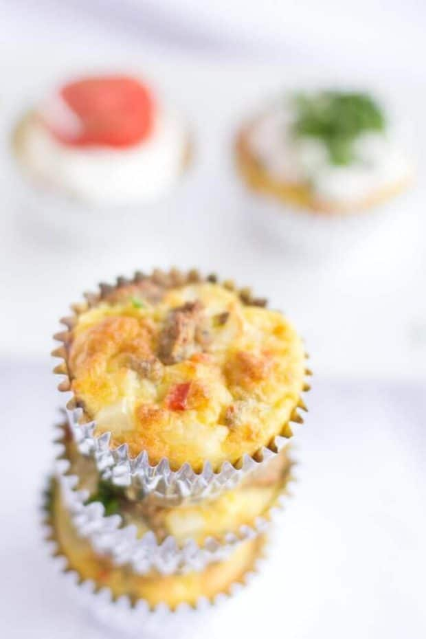 Sausage & Egg Muffin Recipe