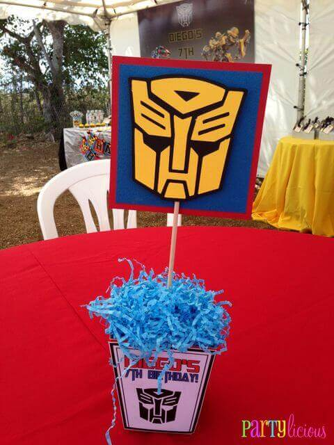 Transformers Centerpiece