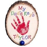 Handprint Key Hook