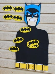 Pin the Bat Symbol on Batman Game