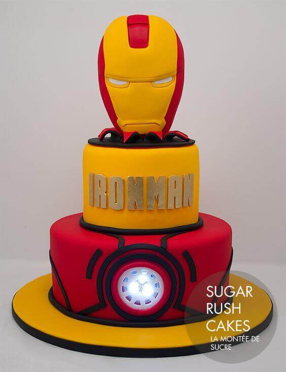 13 Iron Man Party Ideas Spaceships and Laser Beams