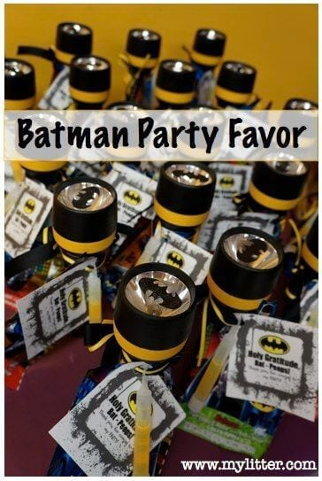 Batman Party Favor
