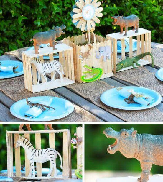 Zoo Themed Birthday Party