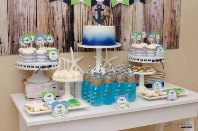 Boy's Under the Sea Birthday Party Ideas