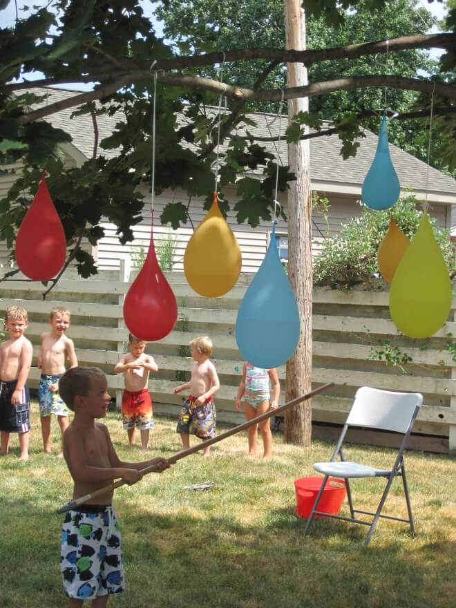 Backyard Water Birthday Party