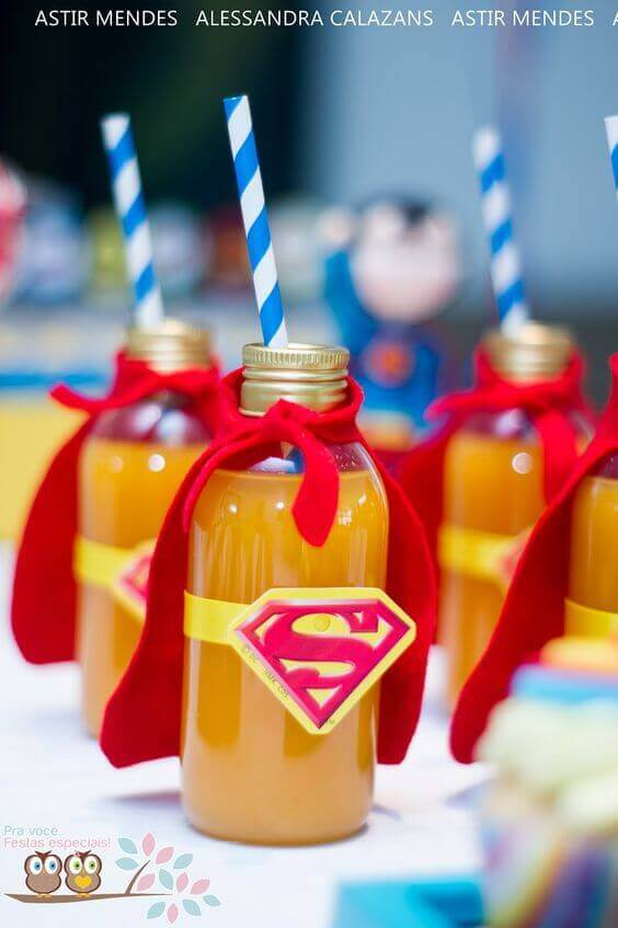 Superman Drinks