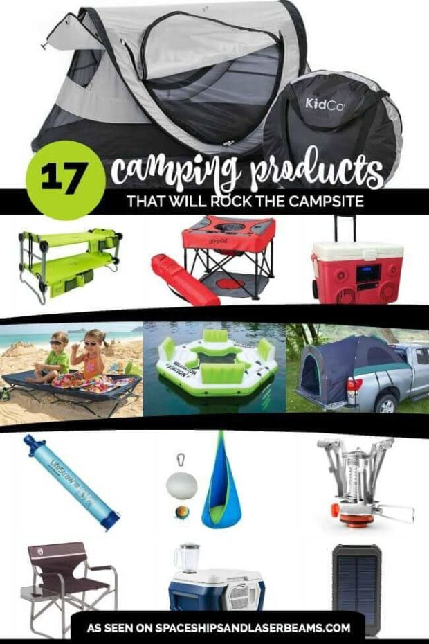 17 Cool Camping Products That Will Rock Your Campsite And Keep The Kids Happy