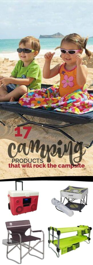 17 Cool Camping Products That Will Rock the Campsite