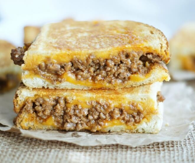 Grilled Sloppy Cheese