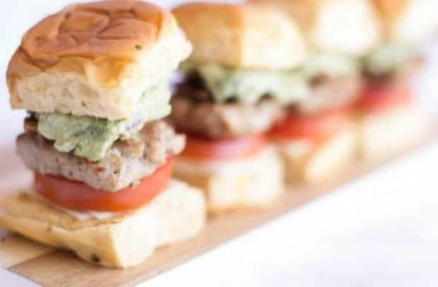 Bacon Guac Slider Recipe