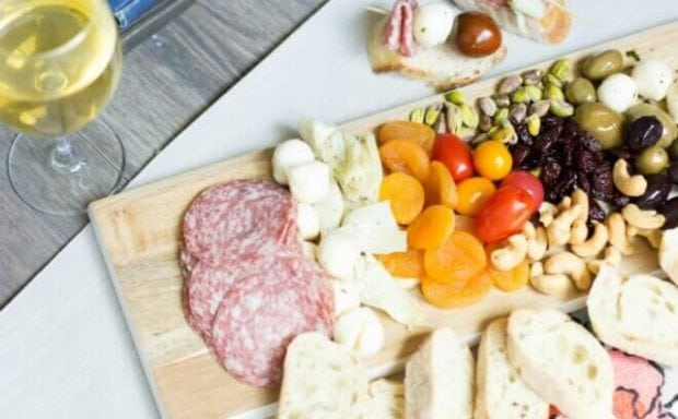 how to create an antipasto platter
