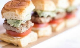 Homemade Slider Recipe