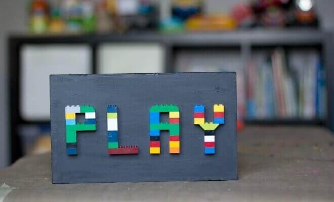 How to Make a DIY LEGO Sign