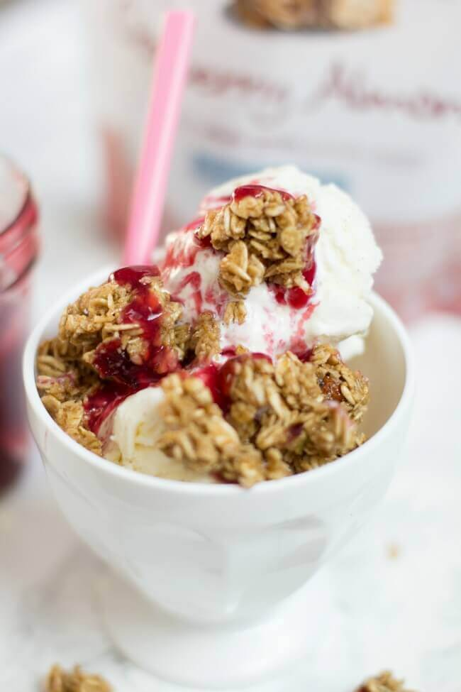 Gluten Free Almond Granola Parfait | Spaceships and Laser ...