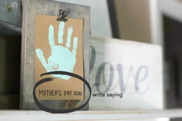 Handprint Craft DIY