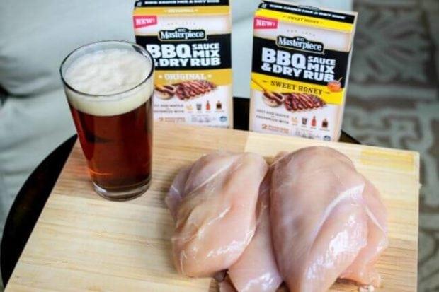 Ingredients for Beer Chicken