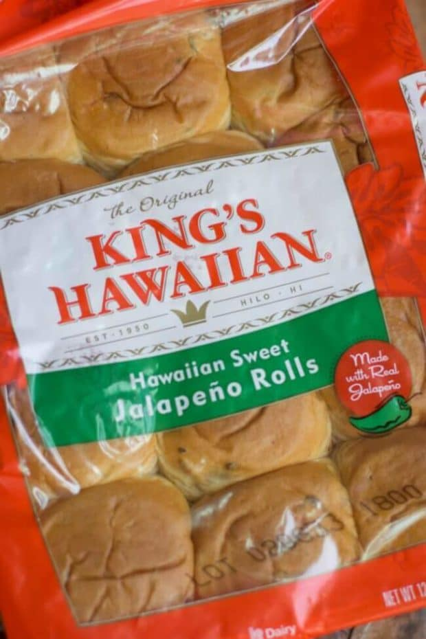 King Hawaiian Jalapeno Rolls
