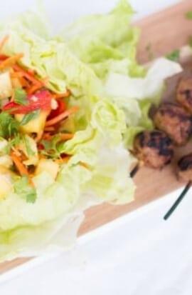 Easy Lettuce Wrap Ideas