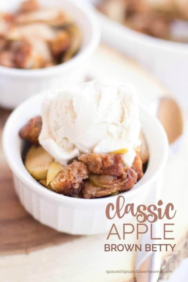 Classic Apple Brown Betty | Spaceships and Laser Beams