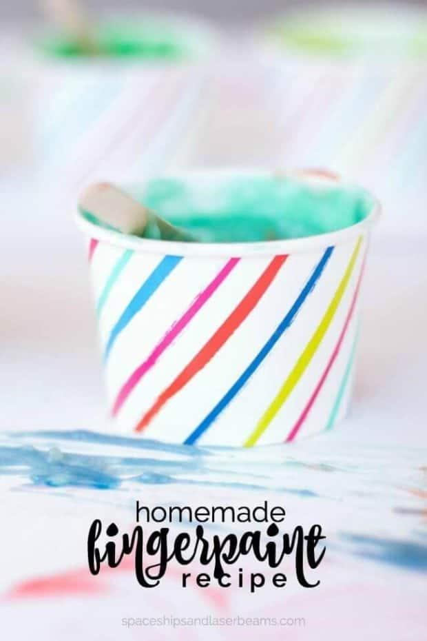 Homemade Fingerpaint Recipe