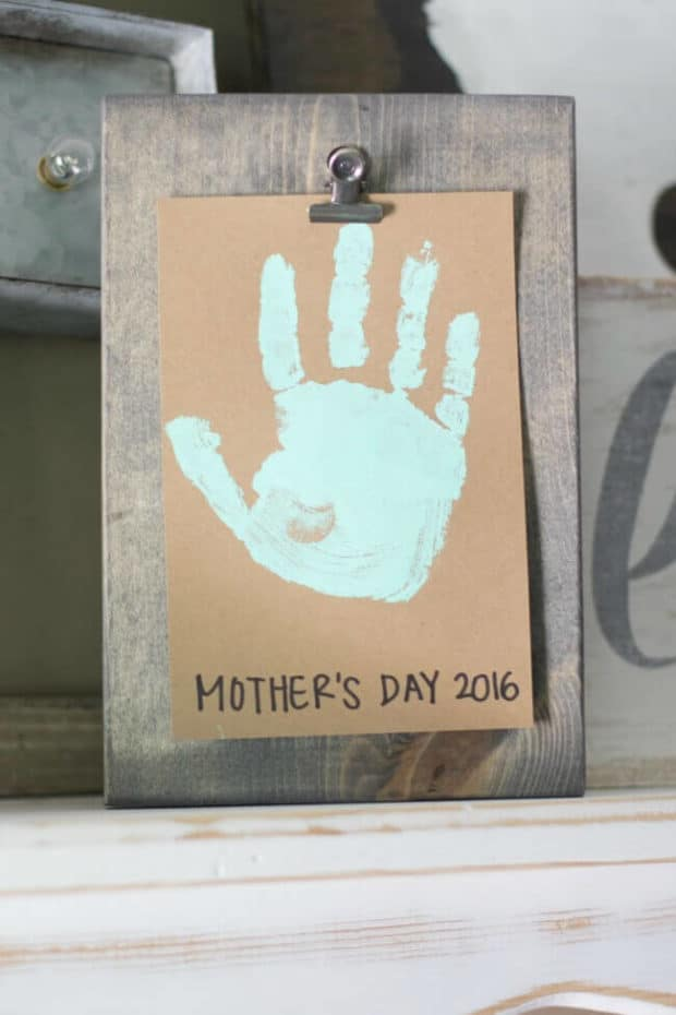 Mother's Day Handprint Craft