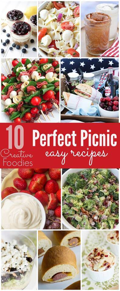 10 Perfect Picnic Easy Recipes