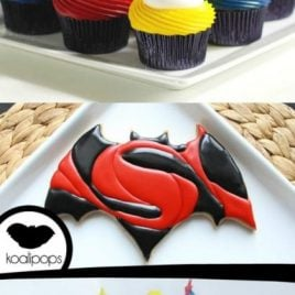 Batman vs superman party ideas