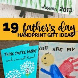 Father's Day Handprint Craft Ideas