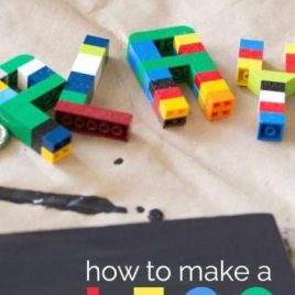 How to Make a DIY LEGO Sign