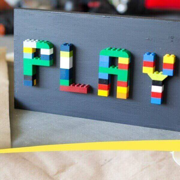 How To Make A Diy Lego Sign Spaceships And Laser Beams