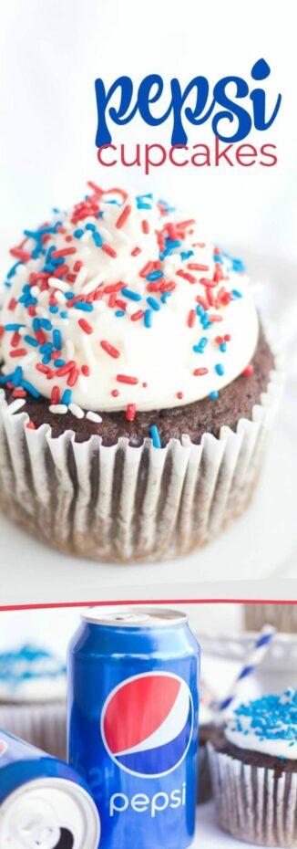Pepsi Cupcake Recipe