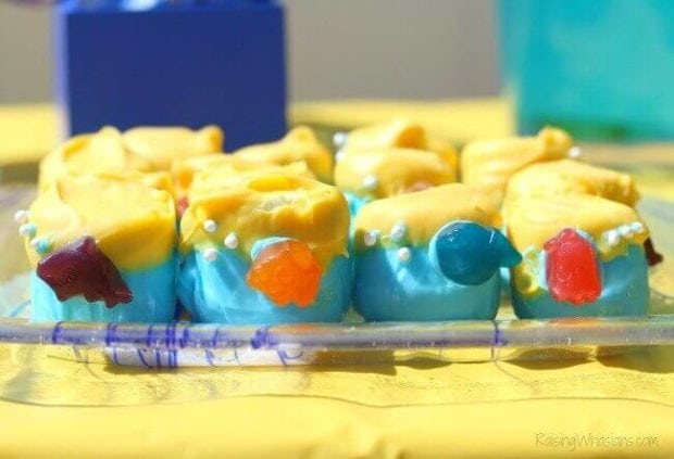 Finding Dory Dipped Marshmallows