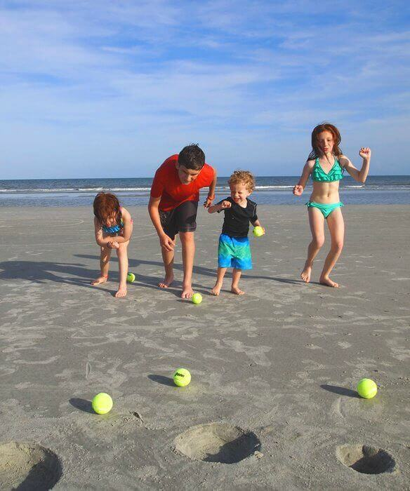 These innovative Beach Games will keep your family entertained for hours!