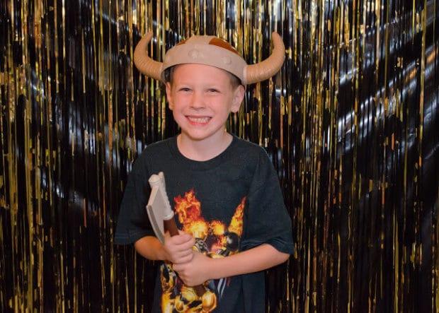 Boys Hollywood Themed Party Photo Booth ideas