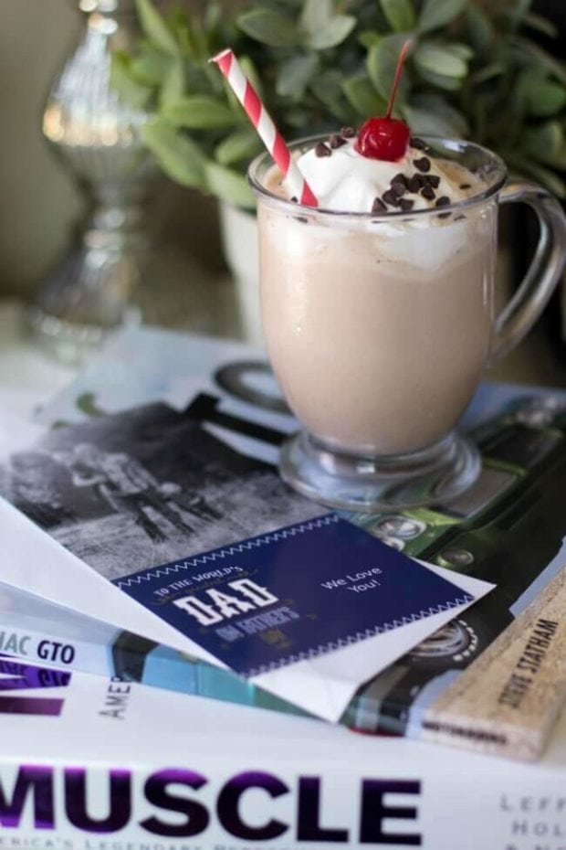 Frozen Mocha Hot Chocolate