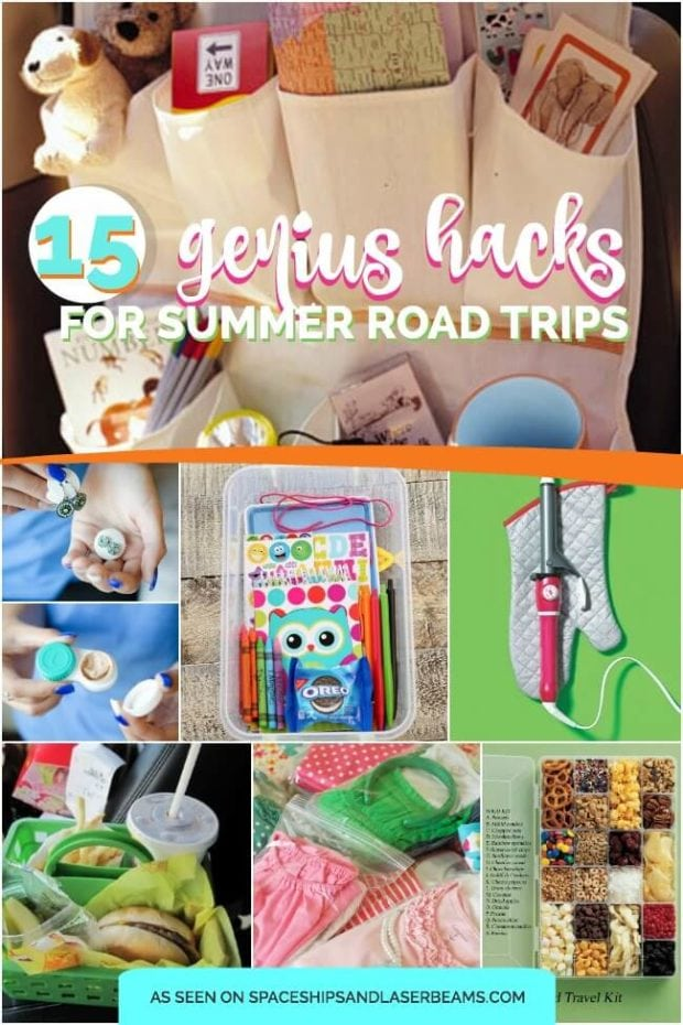 15 Genius Summer Hacks for Road Trips from Spaceships and Laser Beams
