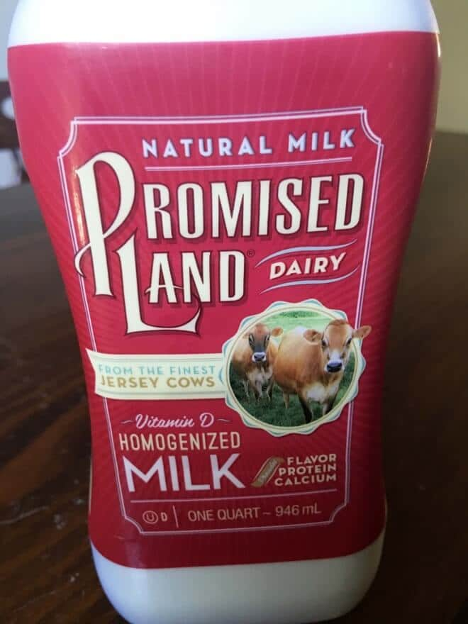 Promised Land Milk