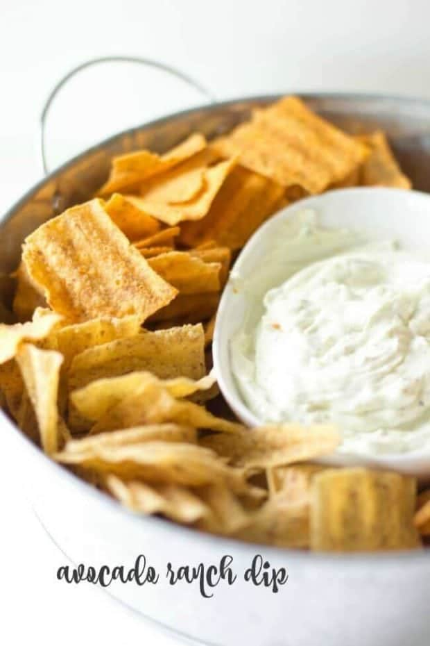 Avocado Ranch Dip Recipe