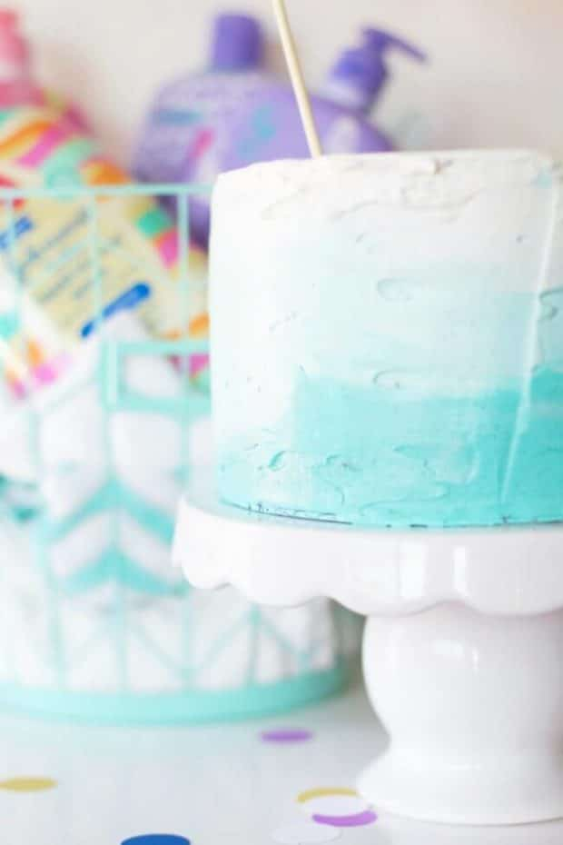 Baby Shower Cake Tutorial