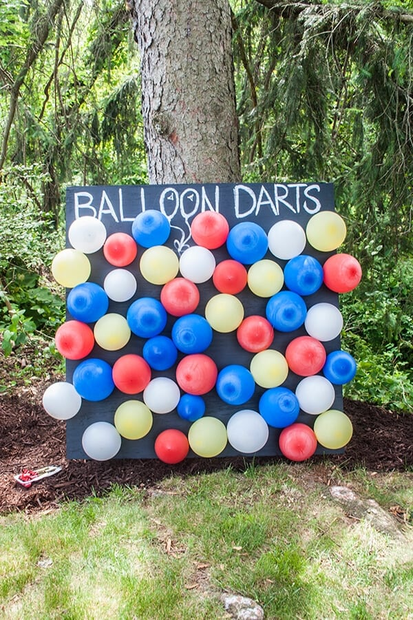 Balloon Dart Board